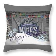 Sacramento Kings Throw Pillow
