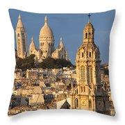Sacre Coeur - Paris Throw Pillow