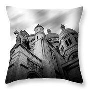 Sacre Couer Throw Pillow