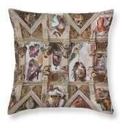 Sacred Ceiling Throw Pillow