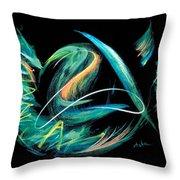 Sacred Feather Dance Throw Pillow