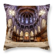 Sacred Heart Sanctuary Throw Pillow