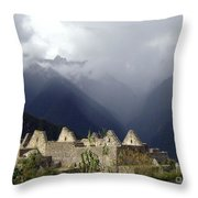 Sacred Mountain Echos Throw Pillow