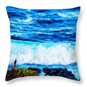 Sacred Place Throw Pillow