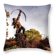 Sacred Rain Arrow Throw Pillow by Tamyra Ayles