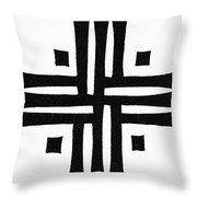 Sacred Roman Cross Throw Pillow