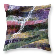 Sacred Spring Throw Pillow by Ursula Freer