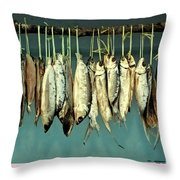 Sacrifice Of Milkfish  Throw Pillow