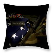 Sacrifices Made 3 Throw Pillow