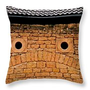 Toad Garage Throw Pillow
