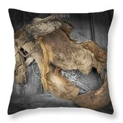 Saddle Sore #2 Throw Pillow