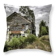Saddle Store 3 Of 3 Throw Pillow