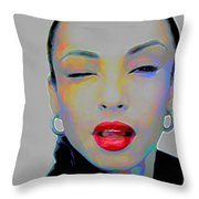 Sade 3 Throw Pillow