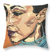 Sade Adu Throw Pillow
