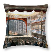 Sadlers Wells, From Ackermanns Throw Pillow