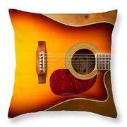 Saehan Guitar Body Throw Pillow