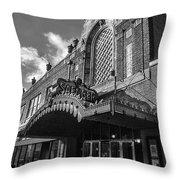 Saenger Theater Throw Pillow