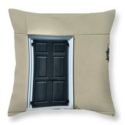 Safe From The Approaching Storm Throw Pillow