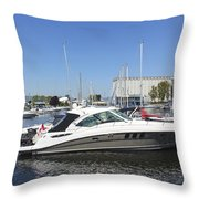 Safe Harbor Series 02 Throw Pillow