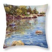 Safe Harbor - Oak Point Throw Pillow