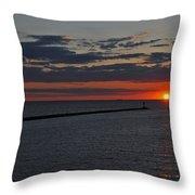 Safe Harbor Throw Pillow