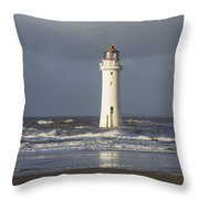 Safely Past Throw Pillow