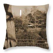 Sagamihara Asamizo Park 15b Throw Pillow