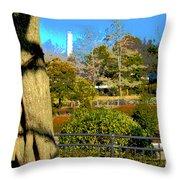 Sagamihara Asamizo Park 15c Throw Pillow