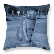 Sagamihara Asamizo Park 7e Throw Pillow