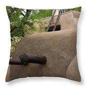 Sagebrush Inn Taos Nm Throw Pillow