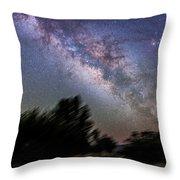 Sagittarius And Scorpius From Arizona Throw Pillow