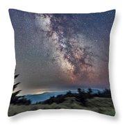 Sagittarius Over Sagebrush Throw Pillow