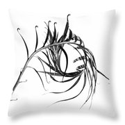 Sago Swirl Throw Pillow