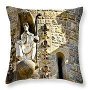 Sagrada Familia - Barcelona Spain Throw Pillow