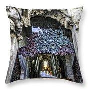Sagrada Familia Doors - Barcelona - Spain Throw Pillow