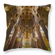 Sagrada Familia IIi Throw Pillow