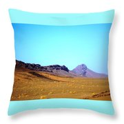 Sahara Desert 13 Throw Pillow
