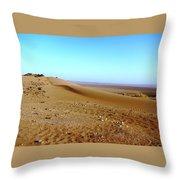 Sahara Desert 14 Throw Pillow