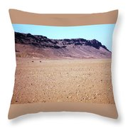 Sahara Desert 15 Throw Pillow