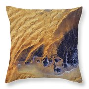 Sahara Desert, Algeria Throw Pillow