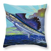 Sail Away Off0014 Throw Pillow