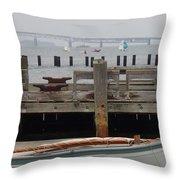 Sail Down. Throw Pillow