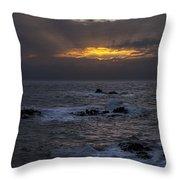 Sail Rock Sunrise 2 Throw Pillow