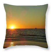 Sail To The Horizon  Throw Pillow