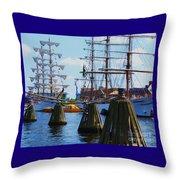 Sailabration Baltimore Throw Pillow