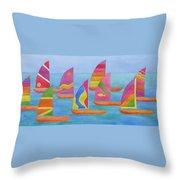 Sailabration Throw Pillow
