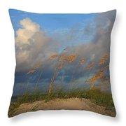 Sailboat Wrightsville Beach North Carolina  Throw Pillow