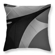 Sailcloth Abstract Number Eight Throw Pillow
