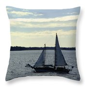 Sailin Throw Pillow