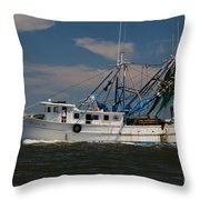 Sailing Along Throw Pillow